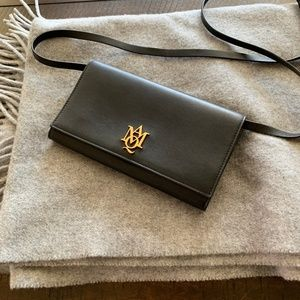 Alexander McQueen INSIGNIA POUCH WITH STRAP